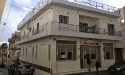 Ανακαίνιση πολυκατοικίας στο Ηράκλειο