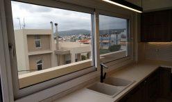 Μετατροπή στεγασμένης πέργκολας σε κατοικία στο Ηράκλειο