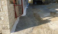 Κατασκευή υπογείου στραγγιστηρίου σε οικία στο Πενταμόδι